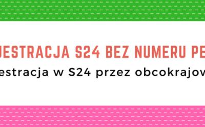 Czy możliwe jest założenie spółki z o.o. S24 przez Ukraińca lub osobę nie posiadającą numeru PESEL